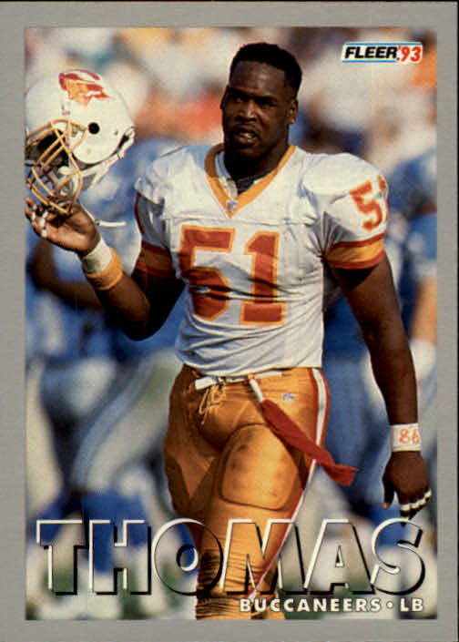 1993 Fleer #217 Broderick Thomas