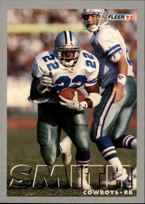 1993 Fleer #233 Emmitt Smith