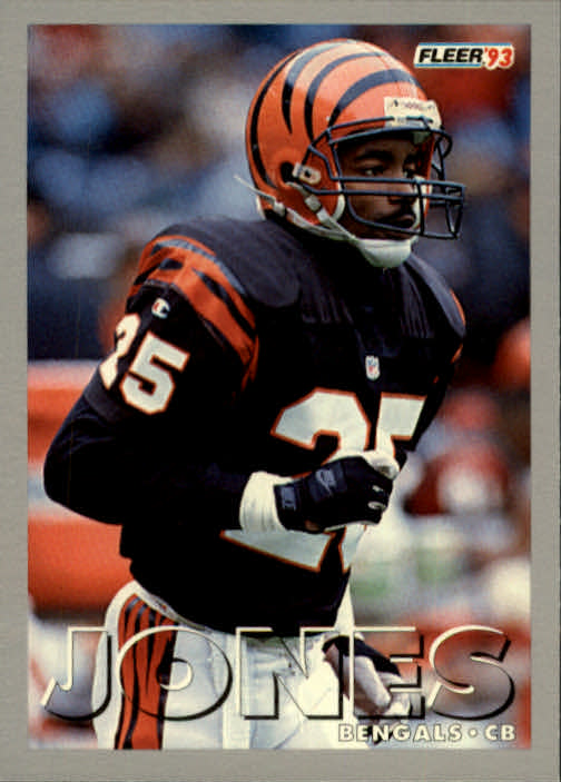 1993 Fleer #410 Rod Jones CB RC