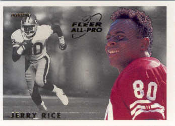 1993 Fleer All-Pros #15 Jerry Rice