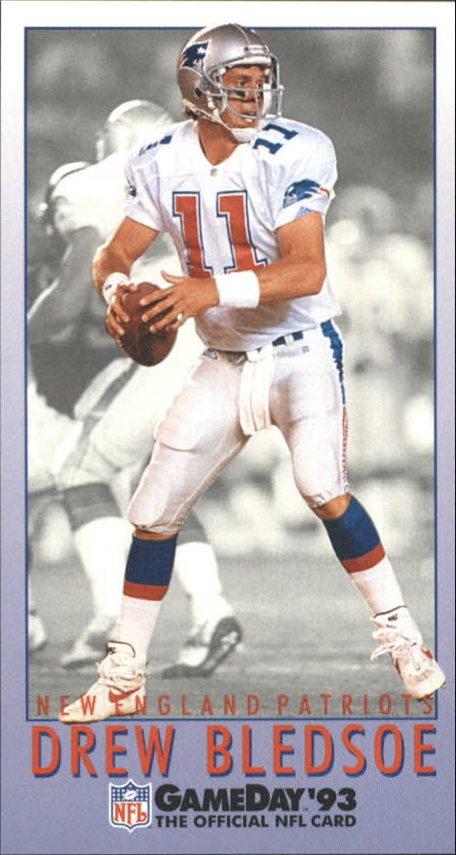 1993 GameDay #11 Drew Bledsoe RC