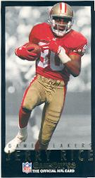 1993 GameDay Gamebreakers #14 Jerry Rice