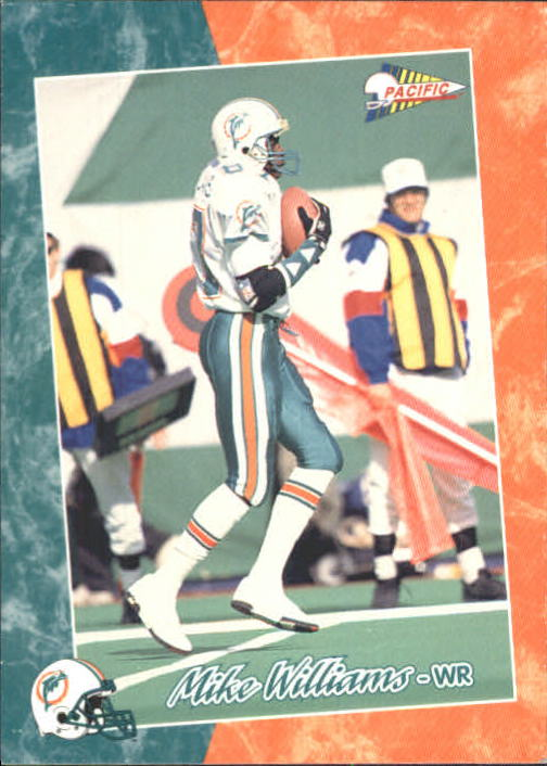 1993 Pacific #222 Mike Williams WR RC