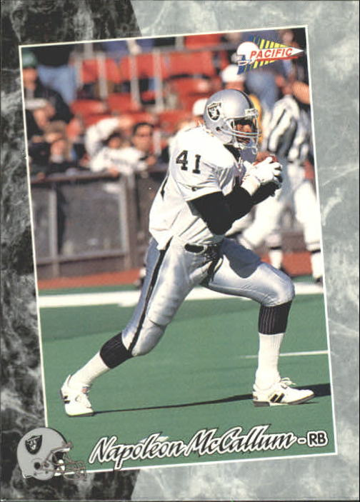 1993 Pacific #377 Napoleon McCallum