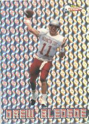 1993 Pacific Silver Prism Inserts #3 Drew Bledsoe
