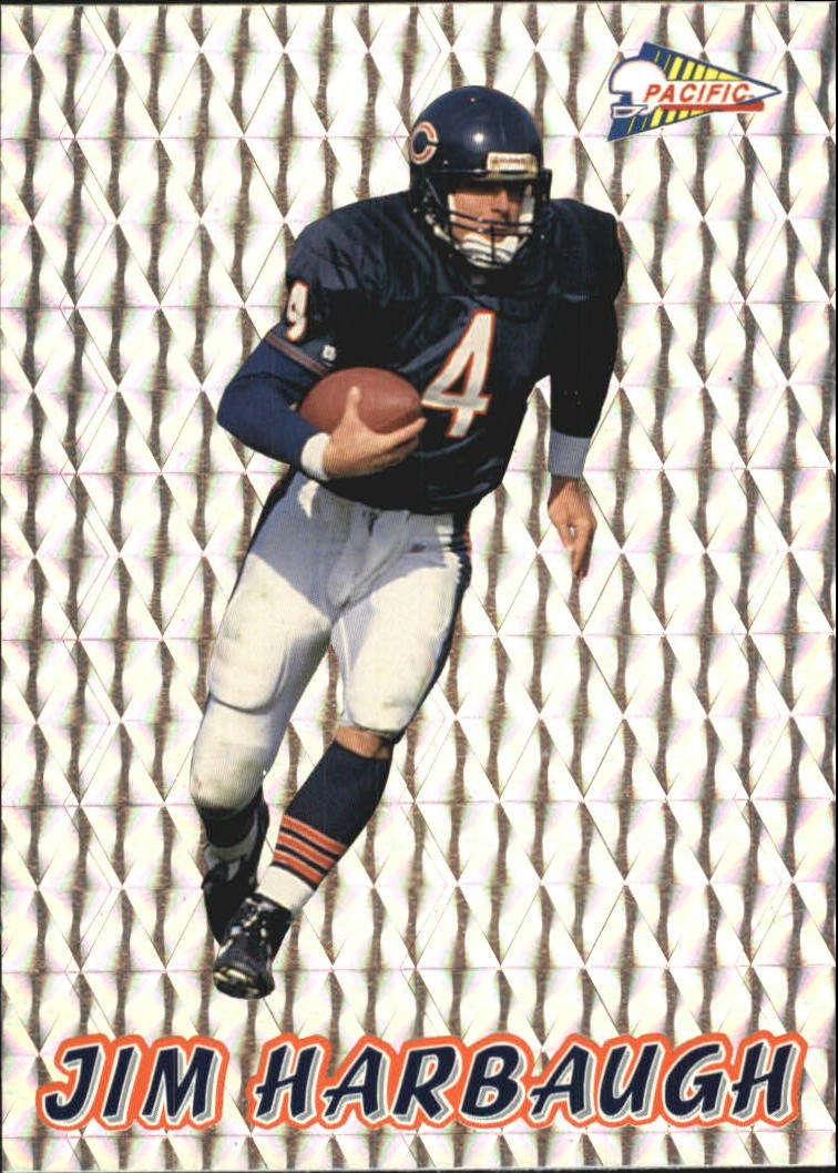 1993 Pacific Prisms #10 Jim Harbaugh