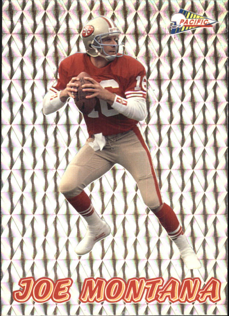 1993 Pacific Prisms #42 Joe Montana