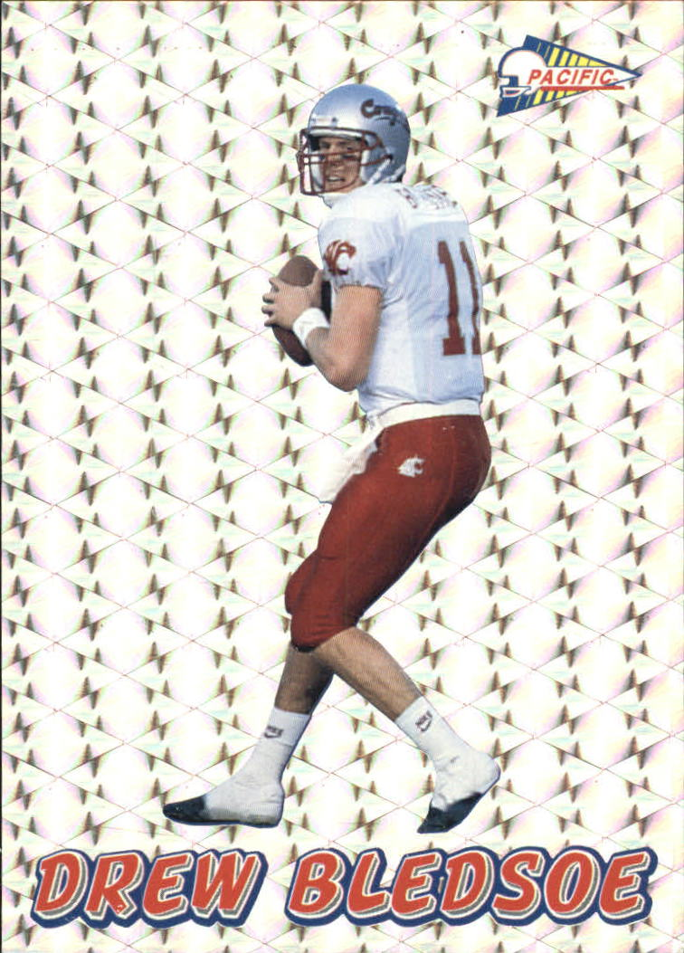 1993 Pacific Prisms #61 Drew Bledsoe RC