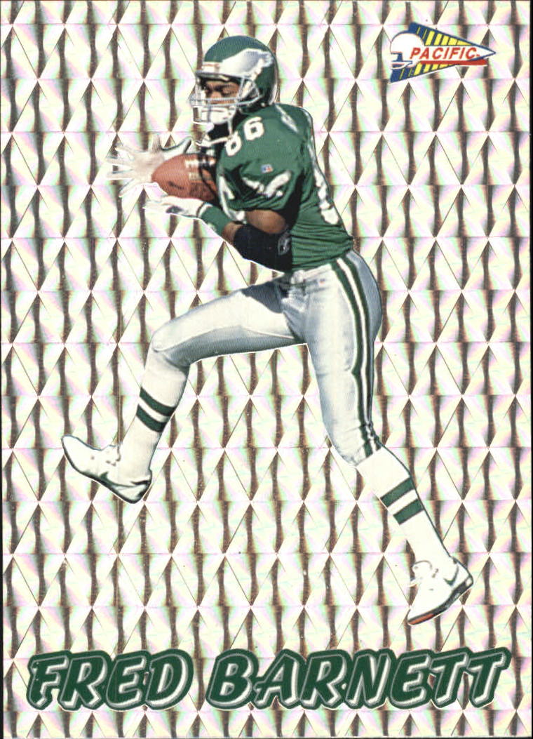 1993 Pacific Prisms #77 Fred Barnett