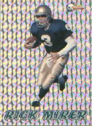 1993 Pacific Prisms #95 Rick Mirer RC