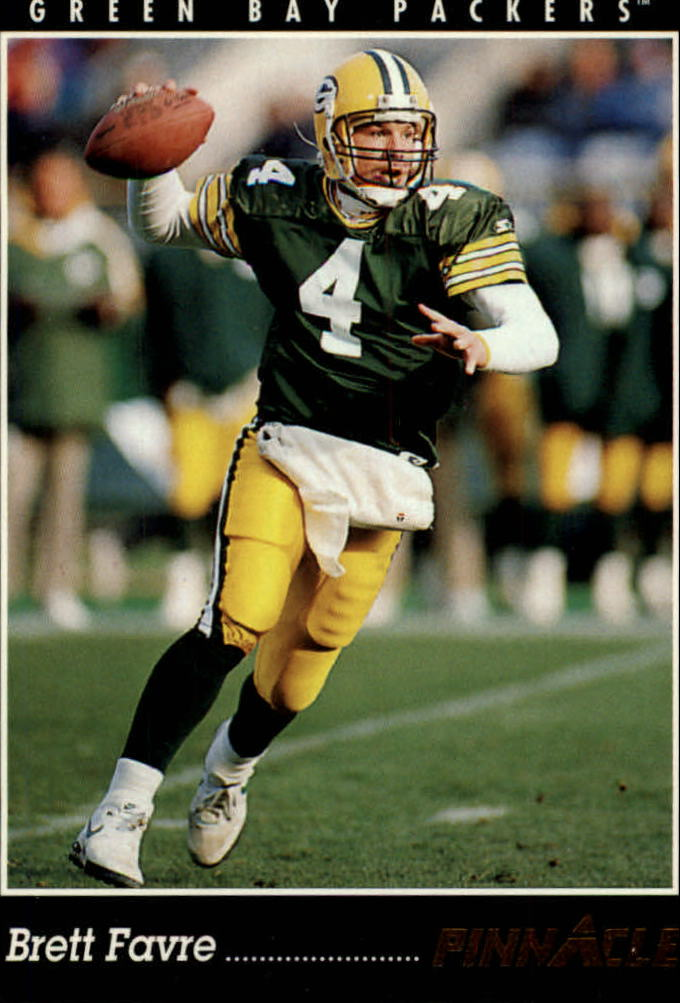 1993 Pinnacle #1 Brett Favre