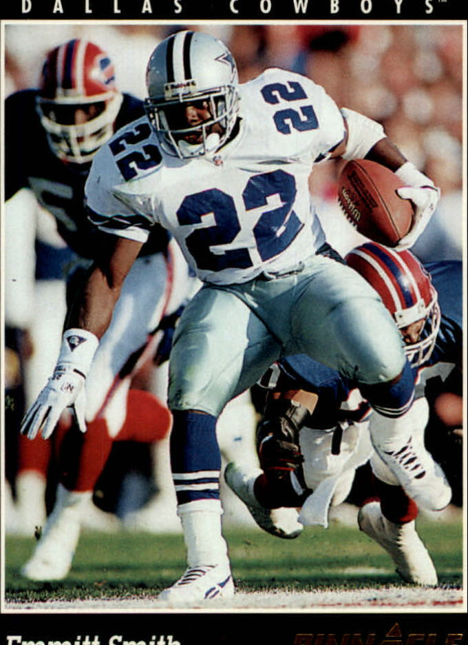 1993 Pinnacle #100 Emmitt Smith