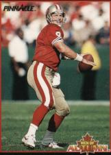 1993 Pinnacle Men of Autumn #25 Steve Young