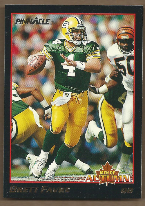 1993 Pinnacle Men of Autumn #37 Brett Favre