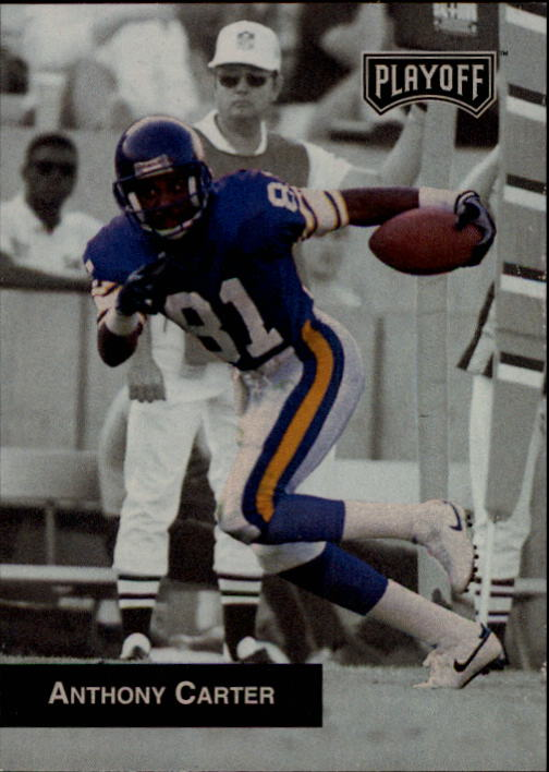 1993 Playoff #63 Anthony Carter