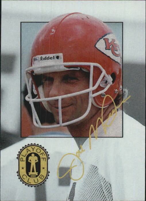 1993 Playoff Club #PC1 Joe Montana