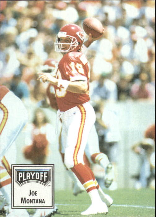 1993 Playoff Contenders #20 Joe Montana