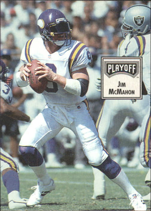 1993 Playoff Contenders #22 Jim McMahon