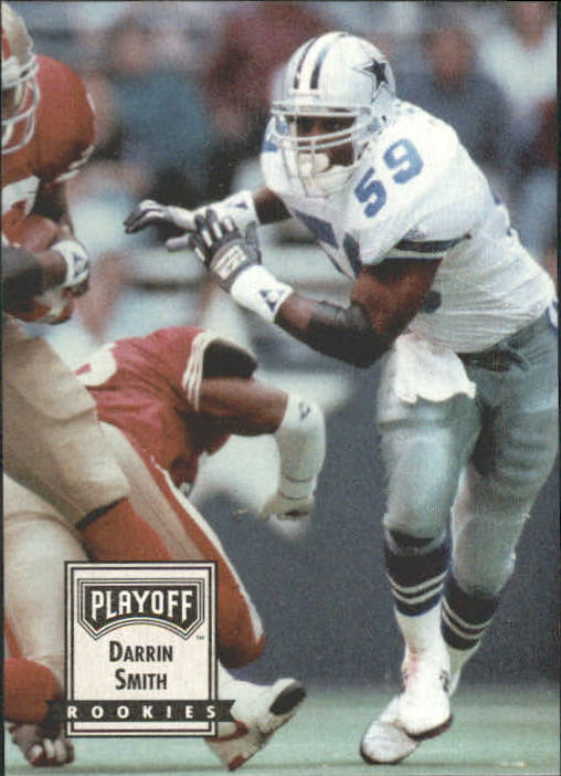 1993 Playoff Contenders #96 Darrin Smith RC