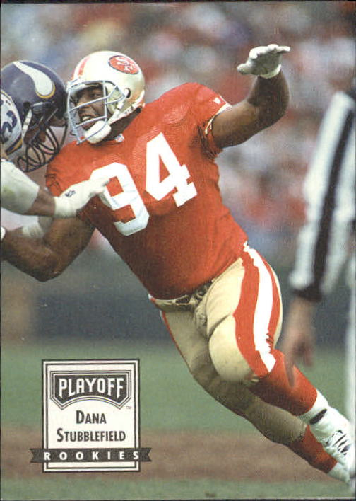 1993 Playoff Contenders #102 Dana Stubblefield RC