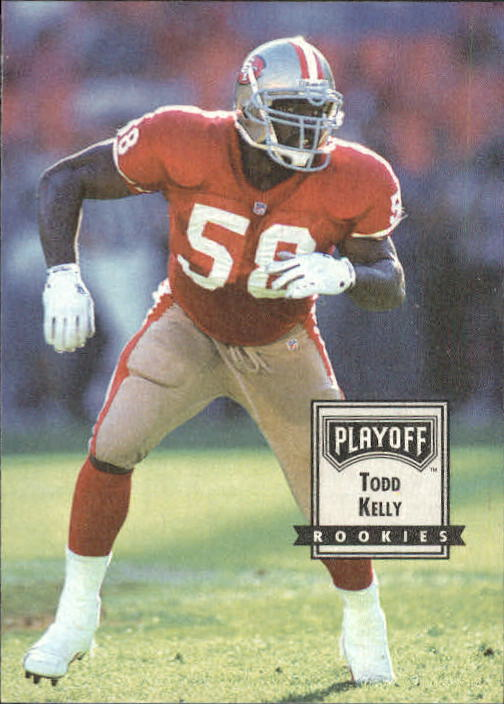 1993 Playoff Contenders #103 Todd Kelly RC
