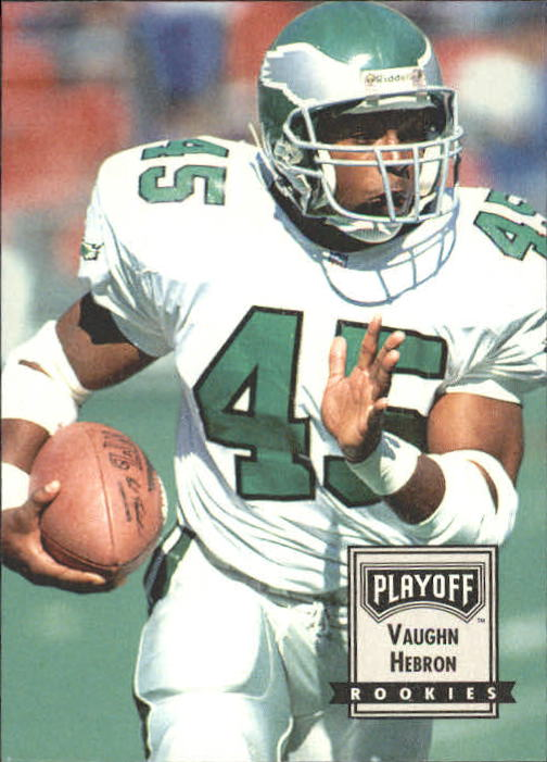 1993 Playoff Contenders #111 Vaughn Hebron RC