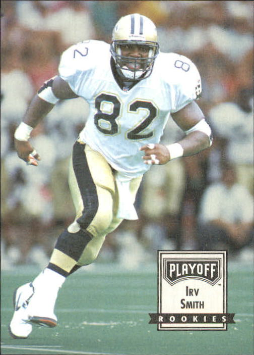 1993 Playoff Contenders #113 Irv Smith RC
