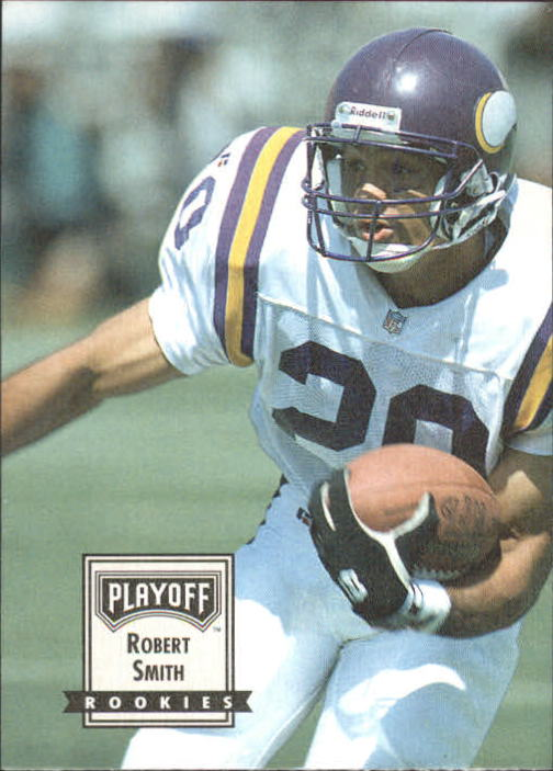 1993 Playoff Contenders #119 Robert Smith RC