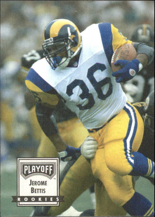 1993 Playoff Contenders #124 Jerome Bettis RC