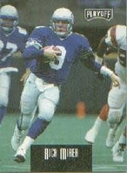 1993 Playoff Contenders Rick Mirer #4 Rick Mirer