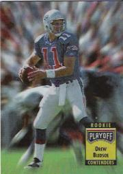 1993 Playoff Contenders Rookie Contenders #2 Drew Bledsoe UER