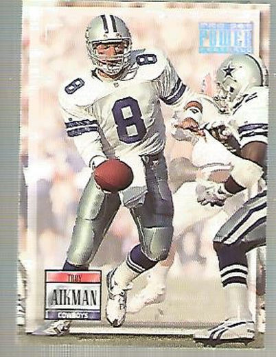 1993 Power #8 Troy Aikman