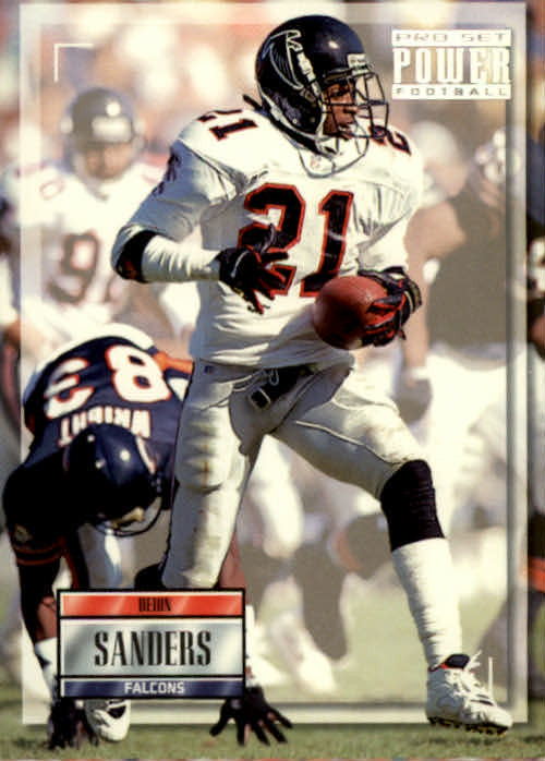 1993 Power #21 Deion Sanders