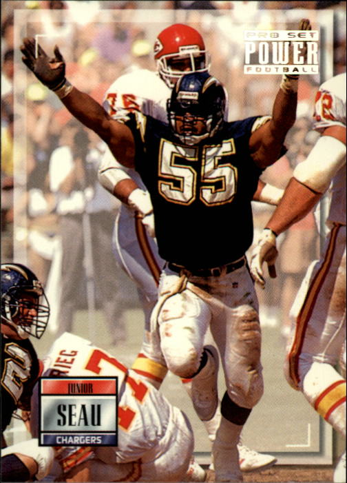 1993 Power #55 Junior Seau