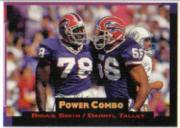 1993 Power Combos Gold #5 Bruce Smith/Darryl Talley