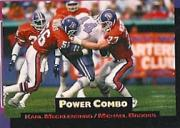 1993 Power Combos Gold #8 Karl Mecklenburg/Michael Brooks
