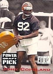 1993 Power Draft Picks #4 John Copeland UER