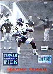 1993 Power Draft Picks #7 Qadry Ismail UER