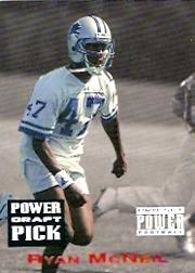 1993 Power Draft Picks #8 Ryan McNeil UER