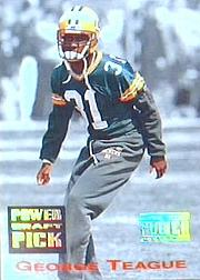 1993 Power Draft Picks #9 George Teague UER