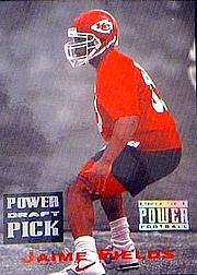 1993 Power Draft Picks #12 Jaime Fields