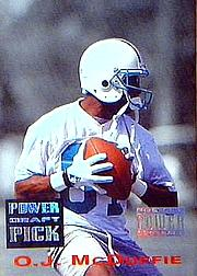 1993 Power Draft Picks #15 O.J.McDuffie