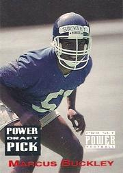 1993 Power Draft Picks #19 Marcus Buckley