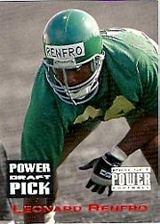1993 Power Draft Picks #21 Leonard Renfro