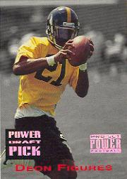 1993 Power Draft Picks #23 Deon Figures