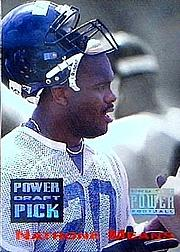 1993 Power Draft Picks #24 Natrone Means