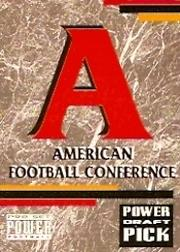 1993 Power Draft Picks #29 AFC Logo CL