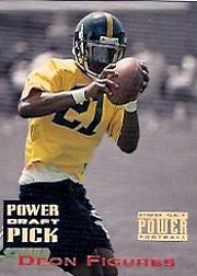 1993 Power Draft Picks Gold #23 Deon Figures