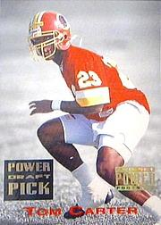 1993 Power Draft Picks Gold #28 Tom Carter