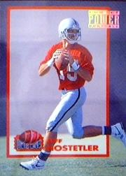 1993 Power Moves Gold #PM12 Jeff Hostetler